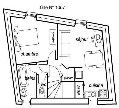 Plandu gîte 1057
